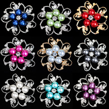 Hot!! Pins And Brooches For Women,Brooches For Scarf And Sweater Women's Hats Icons Rhinestone Brooch Female Cardigan Bijouterie