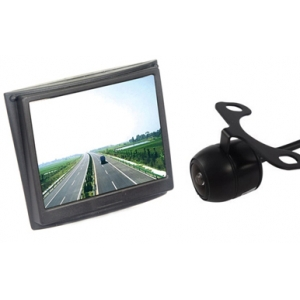 ФОТО 3.5 Inch Wireless Monitor For  Rearview System Wireless Reversing CCTV  Camera
