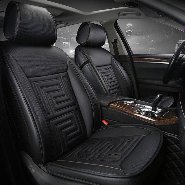 Car Seat Cover Seats Covers Leather For Hyundai Accent Avante Azear Celesta Creta Ix25 Elantra 2017