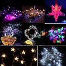 10M 100 Led Christmas Tree Snow Star Bulbs Led String Fairy night Light Xmas Party Wedding outdoor Garden Garland bar Decoratio
