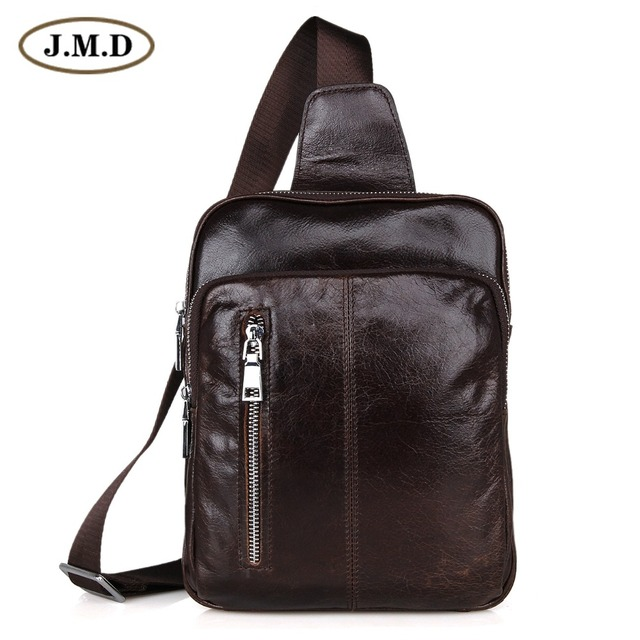 Aliexpress.com : Buy Genuine Leather Men's Chest Bags Popular ...