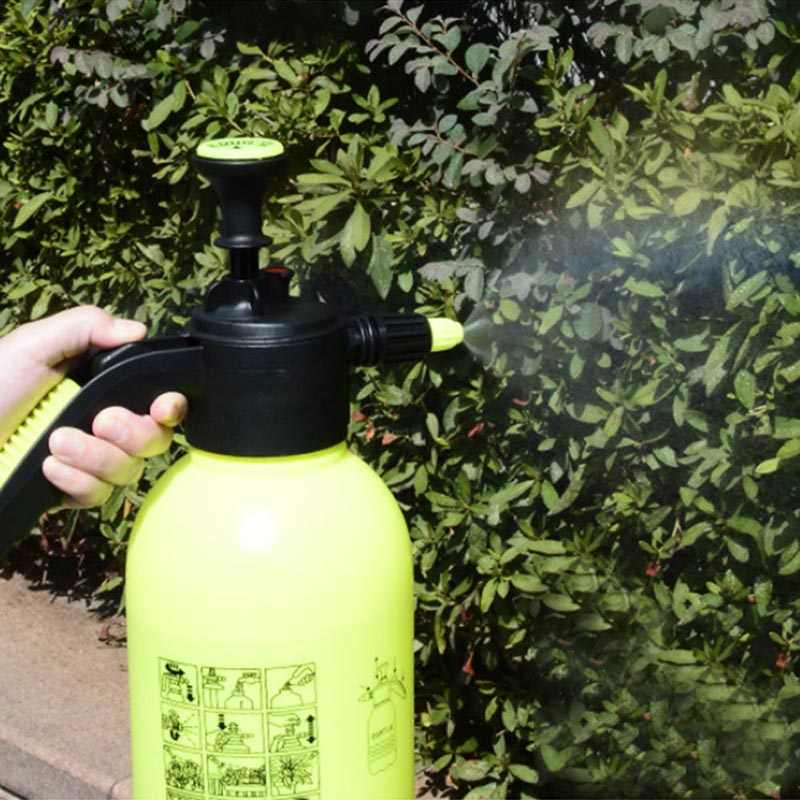 1.5/2L المحمولة حديقة رذاذ زجاجة غلاية ضغط البخاخ مصنع الزهور مسقاة البخاخ غلاية أدوات الحدائق المنزلية