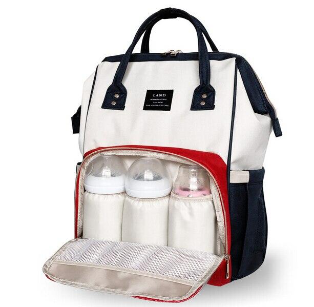 Landuo big capacity baby care diaper bag fashion Diaper Bags waterproof mother maternity bag backpack baby nappy stuff organizer