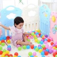 Пластик Для детей забор детские игры играть ползать забор безопасности одежда для малышей квадратный манежи с дверью