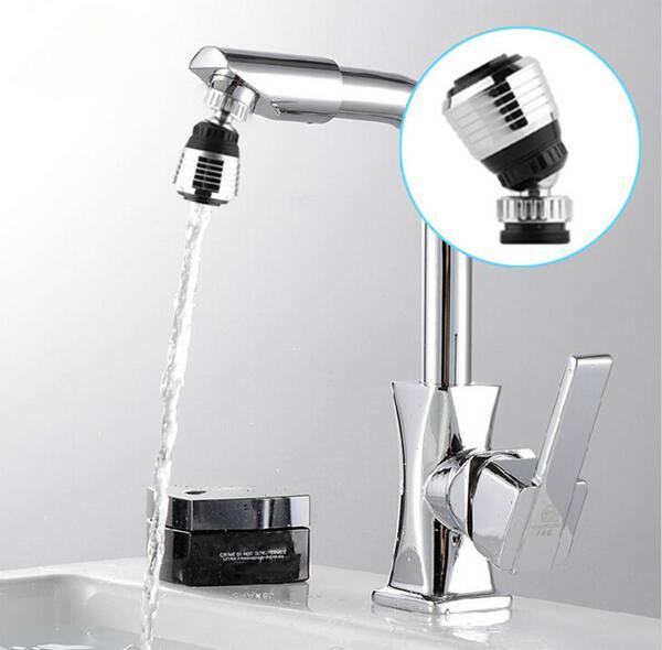 360 スイベルタップノズルフィルターポータブルアダプタ節水蛇口エアレーターディフューザー高品質のキッチンアクセサリー