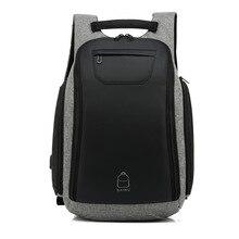 Waterproof Knapsack Anti Theft USB Charging Backpack 15.6 Inch Laptop Backpacks College Youth Mens Bag Schoolbag Travel