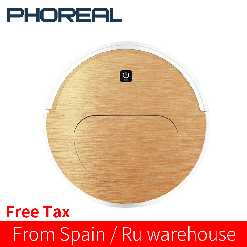 PhoReal FR 6S aspiradora Robot Vacuum Cleaner Wet And Dry 1000pa Suction Robotic Vacuum Cleaner Home