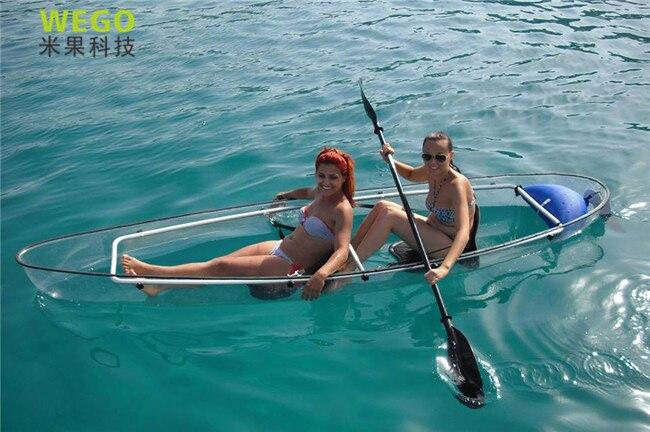Clear sea kayaks kayak inflatable double fishing kayak for ...