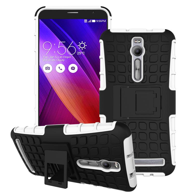 For Asus Zenfone 2 ZE551ML ZE550ML Case Heavy Duty Armor Stand Shockproof Hybrid Hard Soft Rugged Silicon Rubber Phone Cover HTB1sy1QJFXXXXceXFXXq6xXFXXXh
