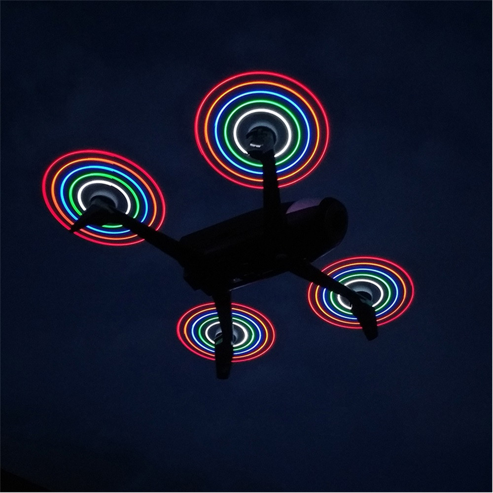 RC Parts STARTRC LED flash Propeller Rechargeable For Mini Drone Parrot Bebop 2 Accessories rc helicopter quadcopter modern cx 10 rc quadcopter spare parts blade propeller jan11