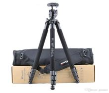 Special Promotions New Camera Tripod Accessories WF-6662A SLR Tripod WITH Spherical Yuntai gift Original Package For DSLR Camera