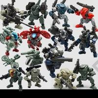 Lost Planet Powered Suit MFT CG01 CG02 DA02 DA03 MS04 MS 04 MS06 DA09 DA12 DA13 MS SAT Transformation Robot Action Figure Toys