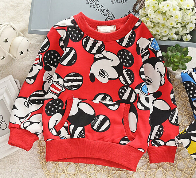 (1piece /lot) 100% cotton 2016 Cute pocket baby outerwear