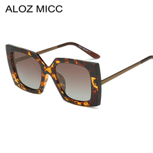 ALOZ MICC Women Polarized Sunglasses Men Luxury Brand Square Sun Glasses Ladies Driving Outdoor Retro Goggles UV400 Q214
