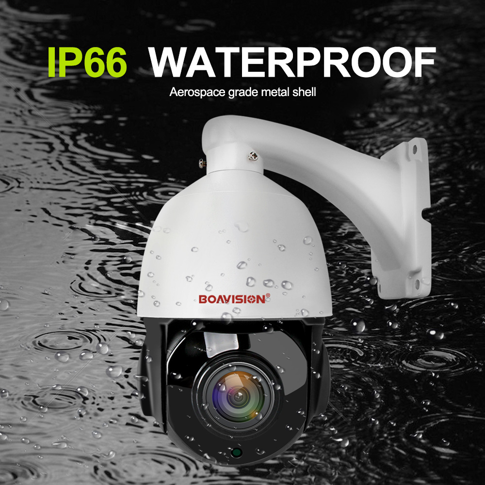 1080 P 2MP PTZ IP caméra POE 30X ZOOM étanche 4MP 5MP Mini vitesse dôme caméra extérieure H.264 IR 50 M CCTV caméra de sécurité 48 V POE - 3