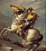 Napoleon Crossing the Alps Classic Oil Paint Painting Figurative Painting on Canvas Home Decor Art , 1801 by Jacques Louis David