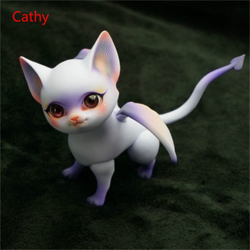 OUENEIFS BJD SD résine poupées Aileendoll Dragon pourriture timide Violet cendres de base Lucy Cathy corps modèle filles garçons jouets de haute qualité - 3