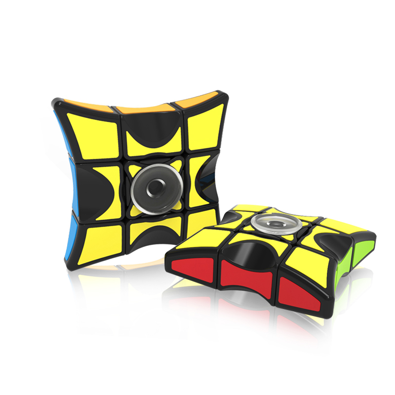 HOT SALE Fully-Functional 1x3x3 Magic Cube & Fidget Spinner Finger Hand Spinner Intelligence Relieve Stress Toys Puzzle