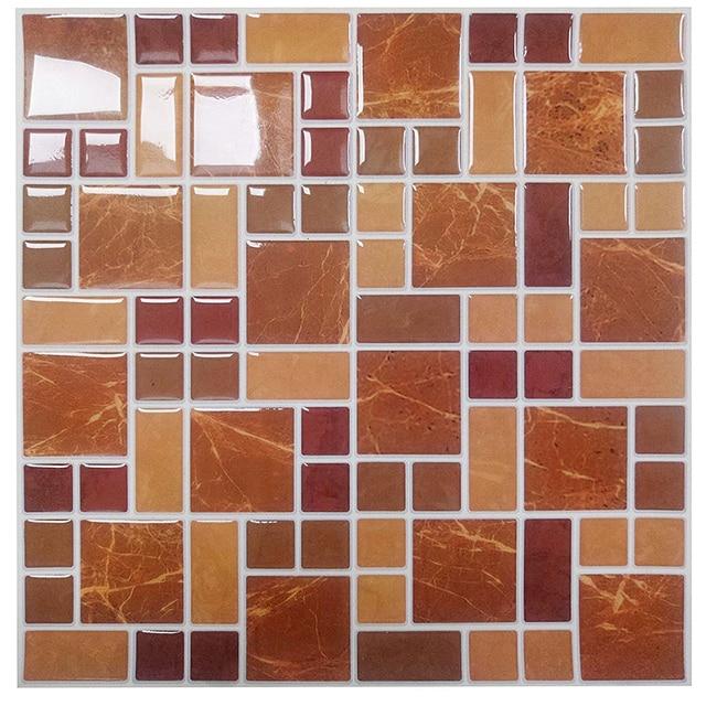 Wootile Mosaico Piastrelle Buccia e Bastone Backsplash per Cucina ...