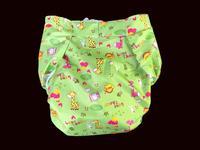 Hai'an reusable adult urinary incontinence diaper light green#MPM01 11