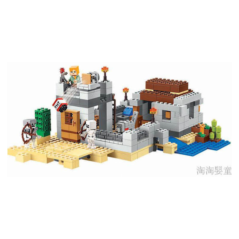Pogo Lepin Minecrafte My World Zombies Building Blocks Bricks Toys Compatible Legoe lepin 75821 pogo bela 10505 birds piggy cars escape models building blocks bricks compatible legoe toys