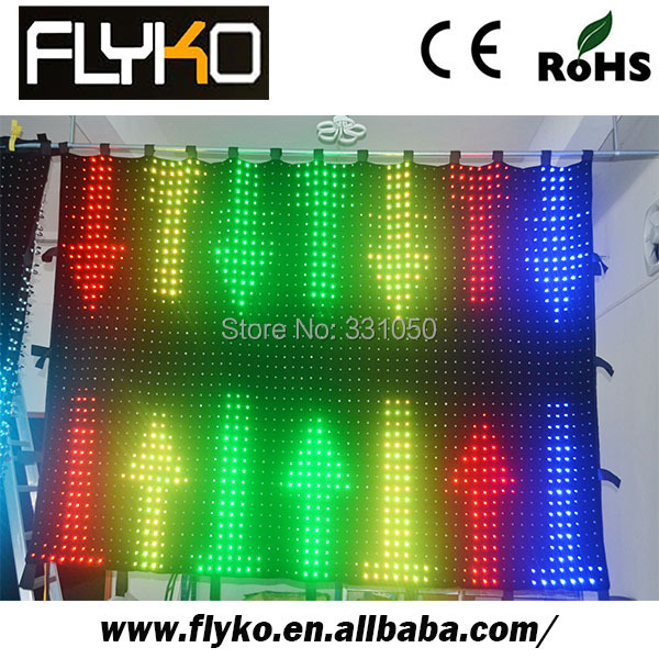 LED stage curtain discount neon bar signs for sale