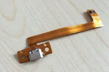 "Micro USB Charging Port DC Power Jack Ribbon Flex Cable For Kobo Arc K107 7/"""