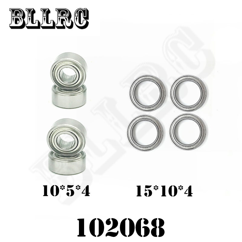 RC Car HSP 102068 Mount Ball Bearings 15*10*4MM 10*5*4MM 02138 02139 02079 02080 1/10 Upgrade Parts 15x10x4 mm 10x5x4
