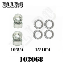 RC Car HSP 102068 Mount Ball Bearings 15*10*4MM 10*5*4MM 02138 02139 02079 02080 1/10 Upgrade Parts 15x10x4 mm 10x5x4