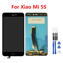 Atten for Xiao Mi 5S LCD Show + Digitizer Contact Display Panel 5.15inch Mi5S  Cellphone LCD Display Elements and  Instruments