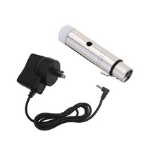 Lixada 2.4G ISM DMX512 Wireless Female XLR Receiver LED Lighting for Stage PAR Party Light