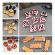 Free shipping! Kawaii pink jam sandwich cookie. Resin Flatback Cabochon for hair bow center,DIY .11*27mm
