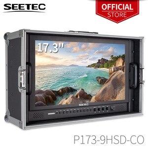 Image 1 - Seetec P173 9HSD CO 17.3 Inch IPS 3G SDI HDMI Phát Sóng Màn Hình Với AV YPbPr Mang Theo Màn Hình LCD Đạo Diễn Màn Hình Với Vali