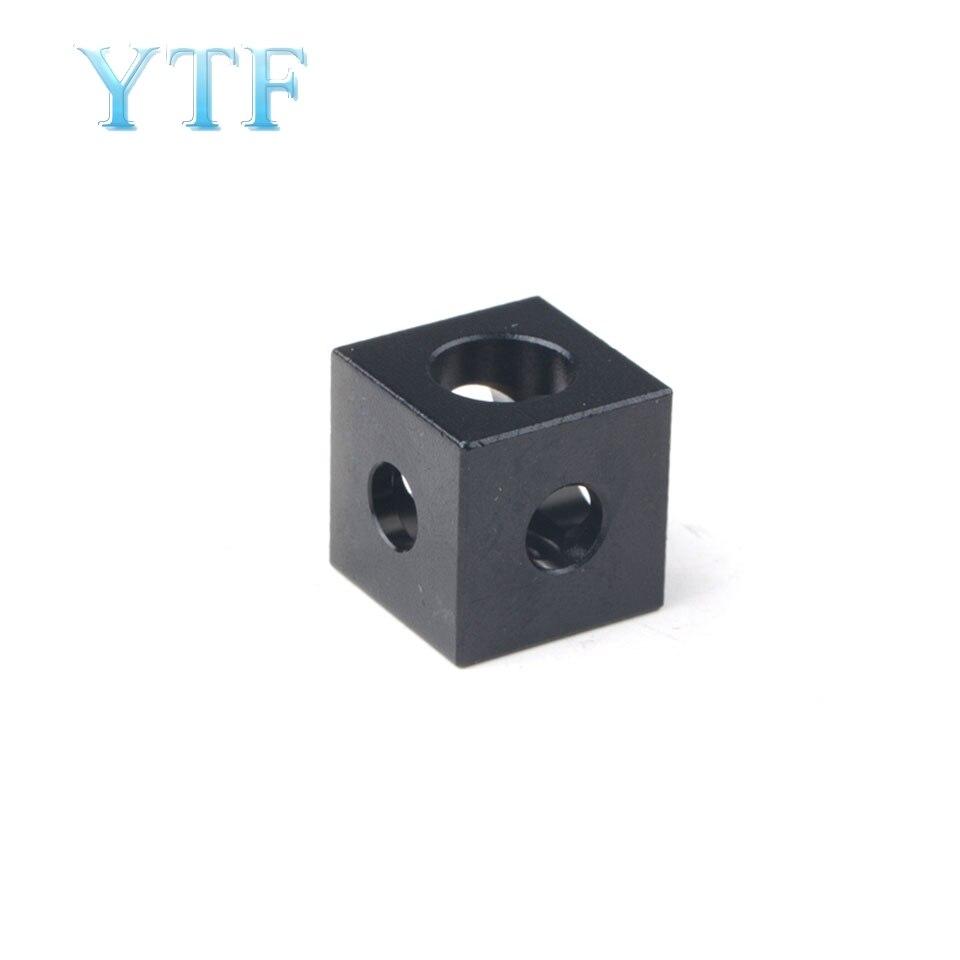 3D Printer Cube Corner V-slot Tee Corner Chassis Corner Prism Connector