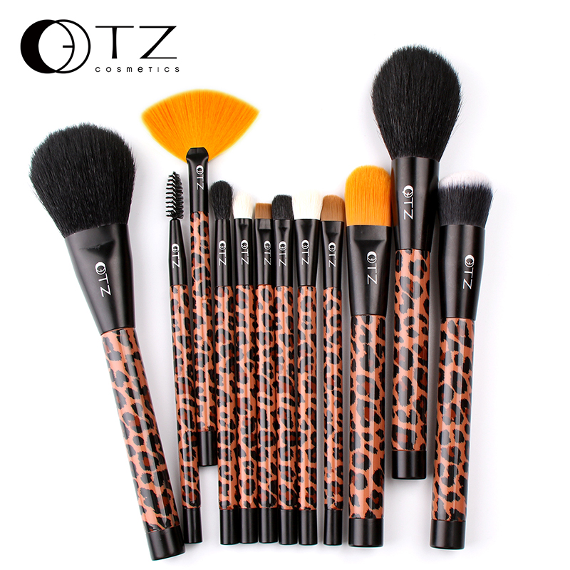 Makeup Brush Set Eyebrow Highlighter Eyeshadow Powder Fan Concealer Lip Brushes Fiber Make up Blending Shading Brush 12 PC TZ 8pcs beauty makeup brushes set eyeshadow blending brush powder foundation eyebrow lip cosmetic make up tools pincel maquiagem