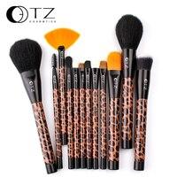 12 PCS Brushes Of Eye Blending Eyshadow Smudge Shading Powder Highligter Blush Foundation Eyeliner Lip Stick