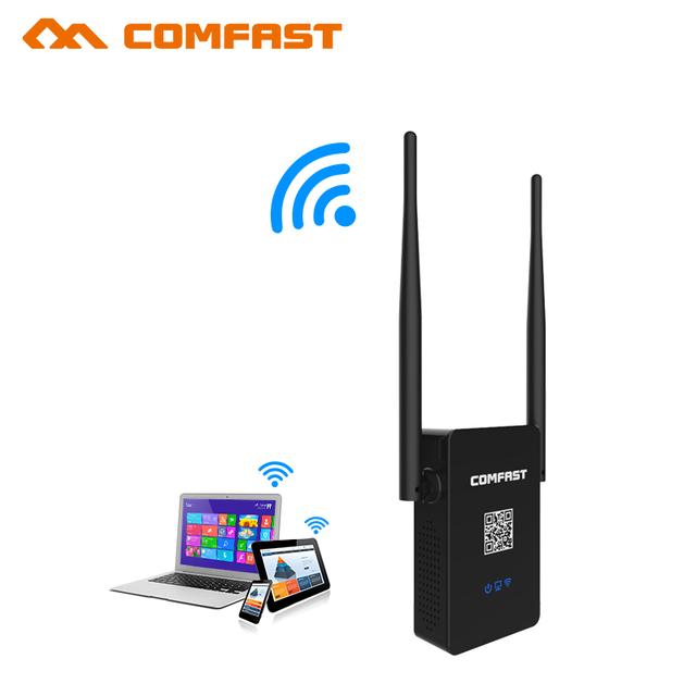 Wireless Wifi Repeater Dual-Band 750Mbps 802.11AC Wifi Extender Signal Amplifier 2.4G 5.8 GHZ Router English firmware Booster