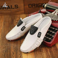iVog Shoes Men Colorful Sole Man Flat Shoe Casual Loafers Slip On Mens Flats Moccasins Male Driving Shoes Lazy Shoes