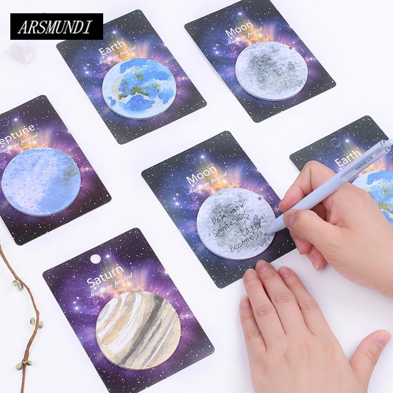 Natural Dream Series Memo Pad Paper Sticky Notes Post It Kawaii Stationery Papeleria School Supplies Material Escolar