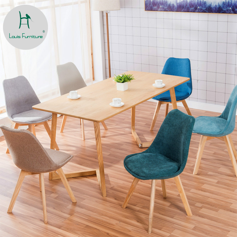 Marvelous Us 33 9 Louis Fashion Living Room Chairs Simple Cloth Art Dining Room Stool Leisure Economy Student Backrest Modern In Living Room Chairs From Spiritservingveterans Wood Chair Design Ideas Spiritservingveteransorg