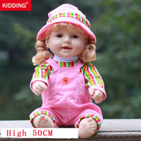 Baby Doll Toy simulation baby 50cm soft Silicone reborn dolls bathing pretend play educational toys for children girls gifts new