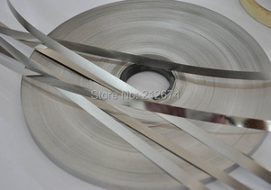 Image 3 - اتصال بطارية النيكل الشريط 0.1*7 ملليمتر بيور النيكل سمك 0.1 ملليمتر عرض الشريط تستخدم ل 18650 بطارية 7 ملليمتر النيكل حزام