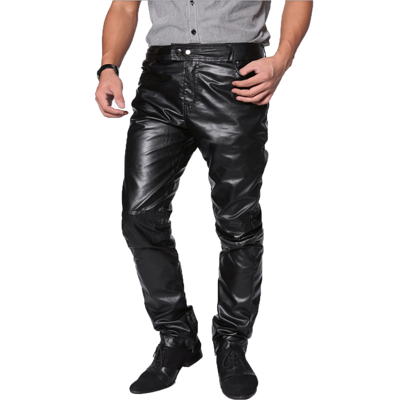 Wholesale Mens Faux Leather Pants