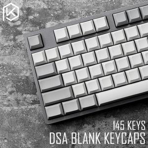 Image 1 - dsa pbt blank light grey grey Keycaps 60% gh60 poker2 xd64 87 104 xd75 xd96 xd84 cosair k70 razer blackwidow planck jj40 jj50