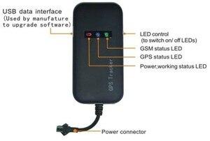 Image 2 - AAAAA garantili % 100% 4 bantlı araç GPS izci GT02A Google bağlantı gerçek zamanlı izleme