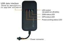 Garantizado 100% 4 bandas car tracker GPS GT02A enlace Google seguimiento en tiempo real envío gratis