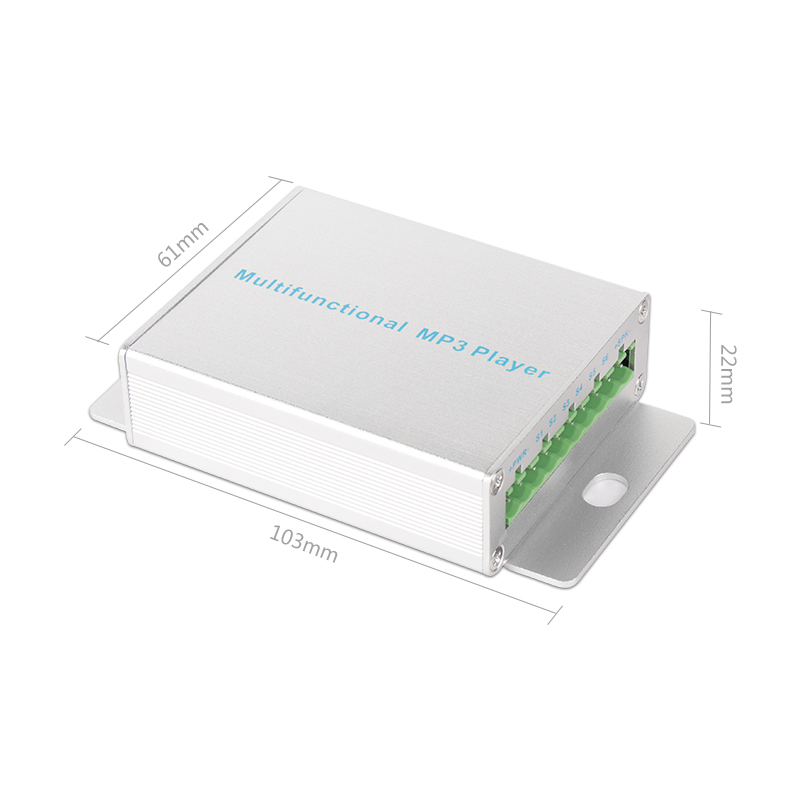 Industrial 50W High Power 6 Channel Voice Customization Module MP3 Player Supports 32G MemoryIndustrial 50W High Power 6 Channel Voice Customization Module MP3 Player Supports 32G Memory