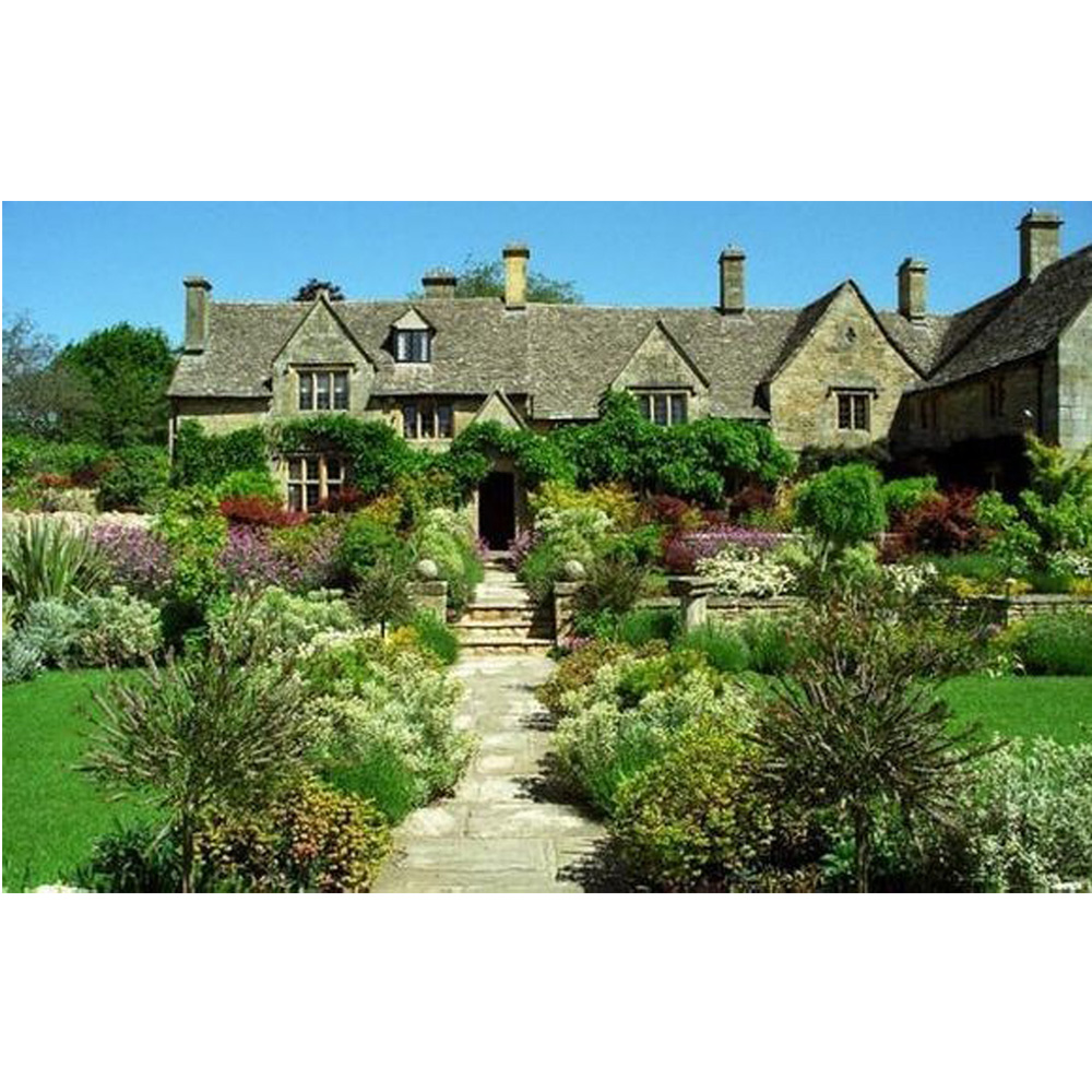 English country garden paintings - English Country Town Full Diamond Painting House Diy Diamond Embroidery 3d Square Diamond Mosaic Picture For