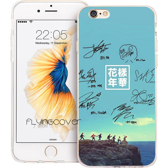 coque bts iphone 5