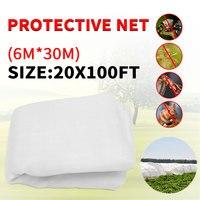 6x30m Insect Bird Barrier net Sunshade mesh Netting Protect Greenhouse Garden Orchard Farm Fruit Crops Vegetable Flower Multi